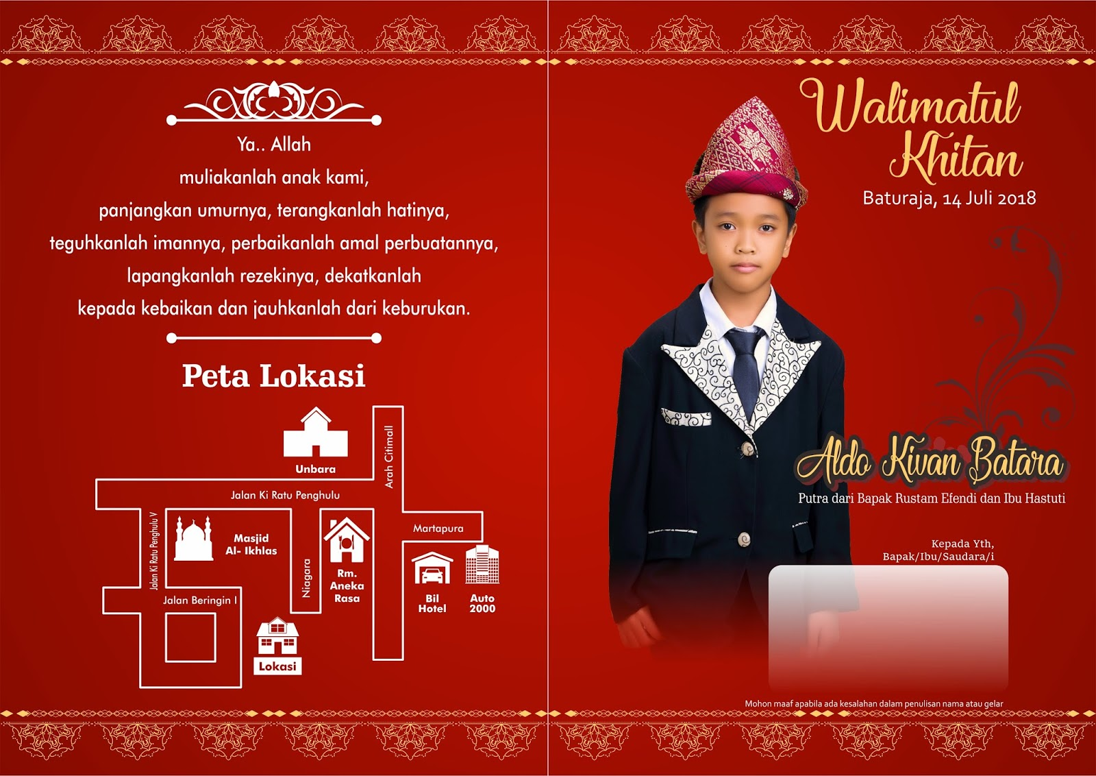 Free Download Undangan Khinatan Vector Cdr Custom Blog