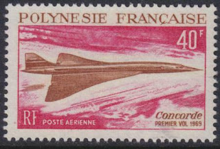 French Polynesia Concorde Supersonic Jet
