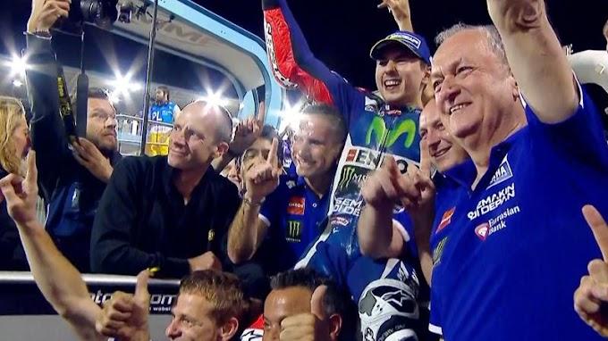 Hasil Race MotoGP Qatar 2016 - Lorenzo Anteng Jadi Juara Seri!