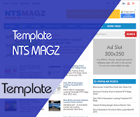Template NTS Magz SEO Fast Responsive