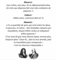 Mazarin et Colbert