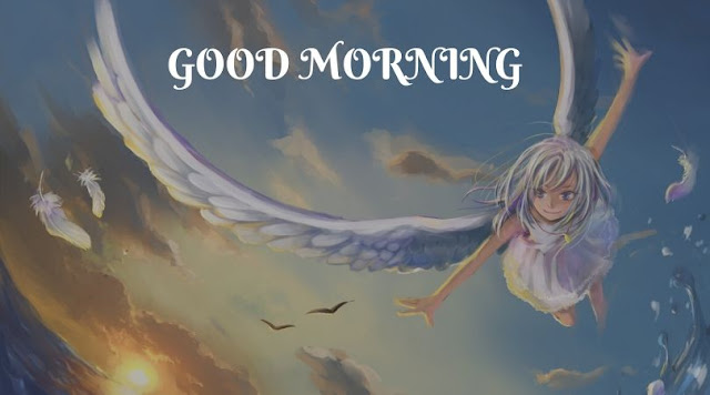 good morning cute angel images