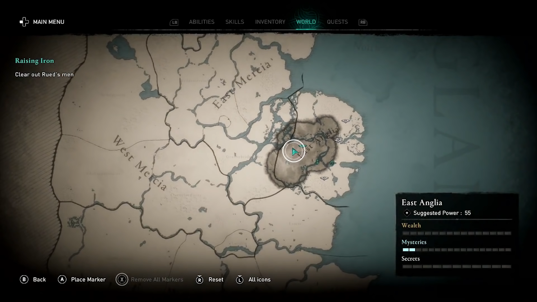 Assassin S Creed Valhalla Map