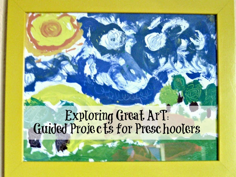 Guided Van Gogh Art Project for Kids
