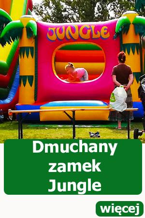 Dmuchany zamek Jungle, dmuchańce Wrocław, atrakcje dla dzieci, urodziny, festyn, piknik
