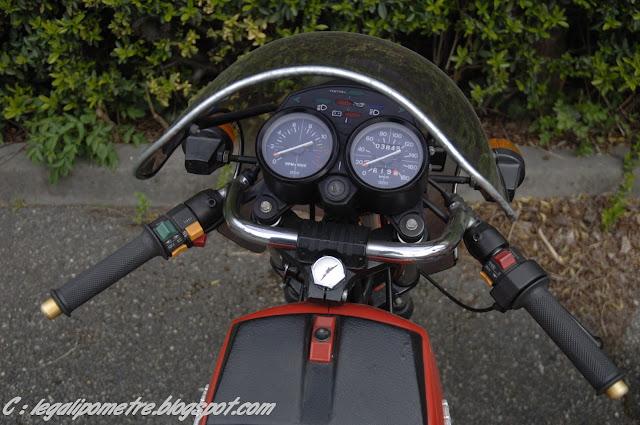 Les cousines Benelli / Moto Guzzi 254 (Années 70) _DSC0052