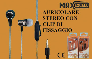 AURICOLARE STEREO MAXEXCELL 09814