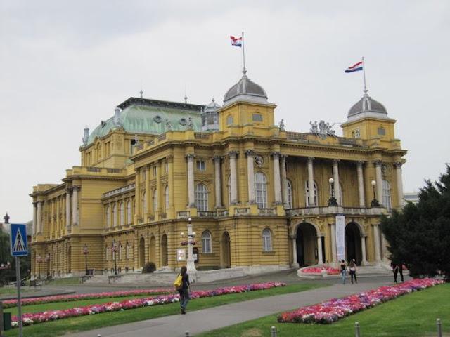 teatro nacional croata, edificios de Croacia