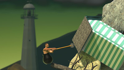 Getting Over It with Bennet Foddy Screenshot 1