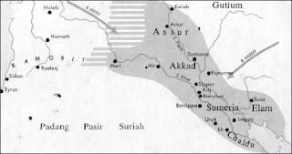 Peta Daerah Mesopotamia