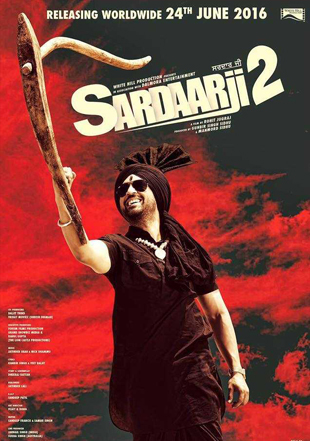 Sardaarji 2 2016 HDRip 720p Dual Audio In Hindi Punjabi ESub UNCUT