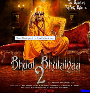 New upcoming movie bhool bhulaiyaa 2 full movie download HD 480,360,review !! kartik Aryan replaces Akshay Kumar in the spin-off of 2007 hit motion picture Bhool Bhulaiyaa.