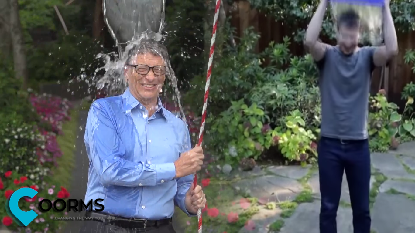 Mark Zuckerberg and Bill Gates Join The Ice Bucket Challenge