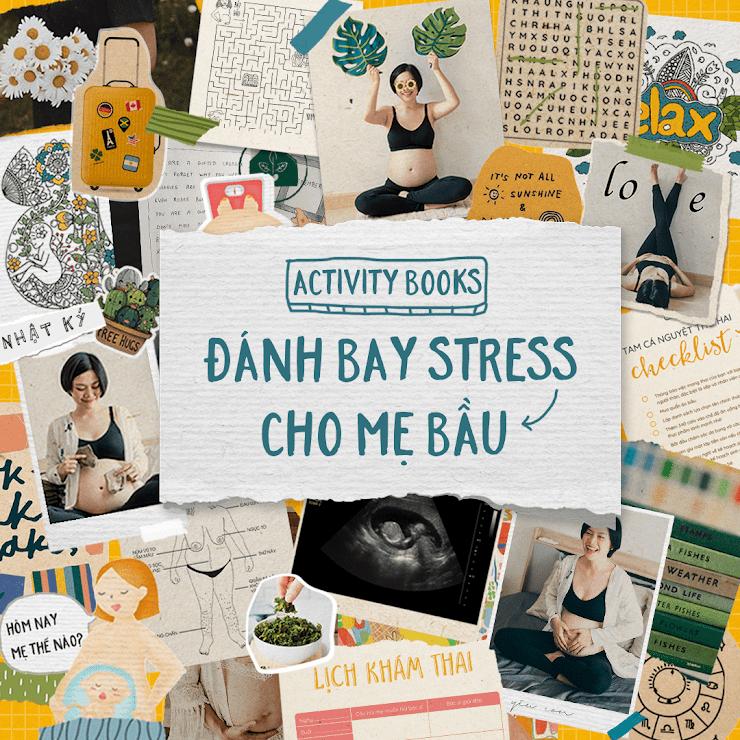 [A116] 3 tháng đầu thai kỳ Mẹ nên đọc sách gì giúp giảm căng thẳng?