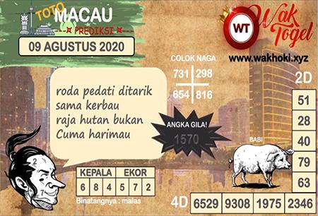 Prediksi Wak Togel Macau Minggu 09 Agustus 2020