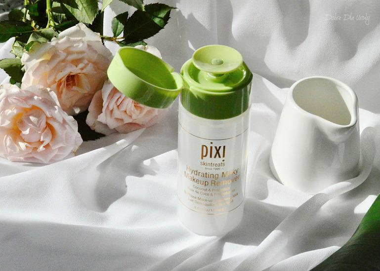 Nawilżający płyn do demakijażu Hydrating Milky Pixi  recenzja