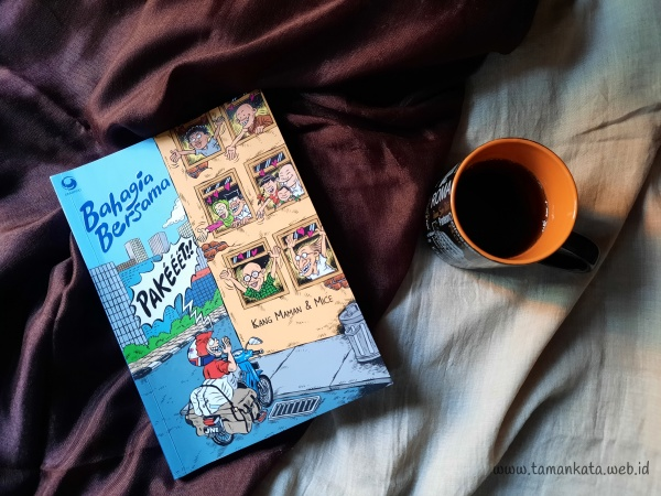 Buku Bahagia Bersama JNE Kang Maman