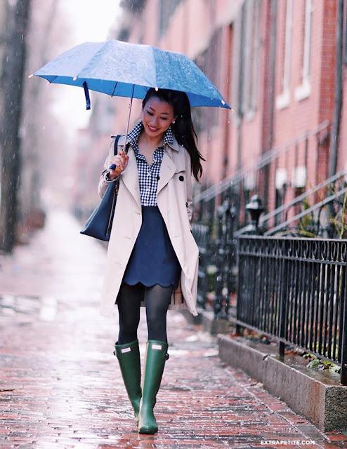 outfit stivali da pioggia come indossare gli stivali da pioggia come abbinare gli stivali da pioggia idee outfit stivali pioggia rain boots how to wear rain boots winter outfits mariafelicia magno fashion blogger color block by felym fashion blogger italiane fashion bloggers italy