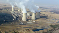 Arnot coal power station, Middelburg, South Africa (Picture Credit:  Wikimedia Commons/Gerhard Roux) Click to Enlarge.