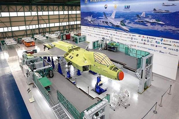 Ini Penampakan Jet Tempur KF-X/IF-X Proyek Korsel-Indonesia saat Perakitan Akhir