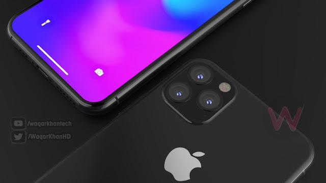 नए रेंडरर्स Apple के लीक हुए iPhone 11 डिज़ाइन
