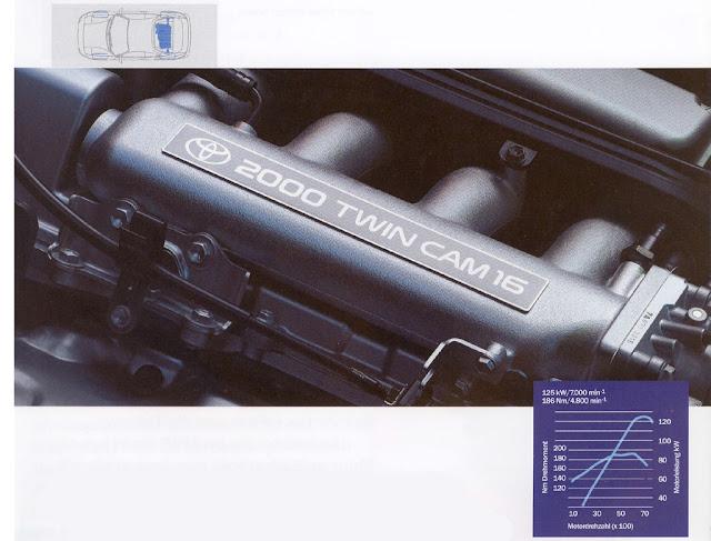 Toyota MR2 MK2 SW20 SW21 SW22 japoński sportowy samochód coupe JDM mid-ship mid-engine silnik 3S 日本車 トヨタ