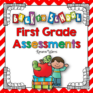 https://www.teacherspayteachers.com/Product/Back-to-School-Assessments-First-Grade-1931037