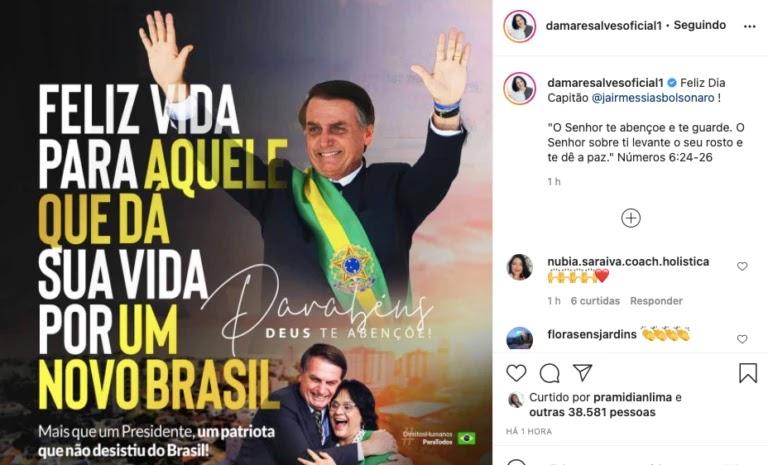 Screenshot 2021 03 21T091705.376 768x465%2B%25281%2529 - Bolsonaro completa 66 anos e é homenageado por multidão de patriotas que canta parabéns em frente ao planalto; VEJA VÍDEO