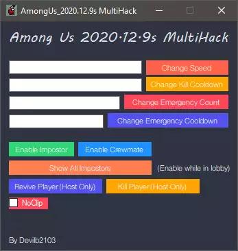 Among Us: External MultiHack