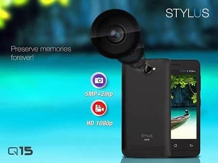 Stylus Q15 Smartphone