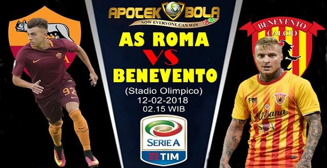 Prediksi AS Roma vs Benevento 12 Februari 2018