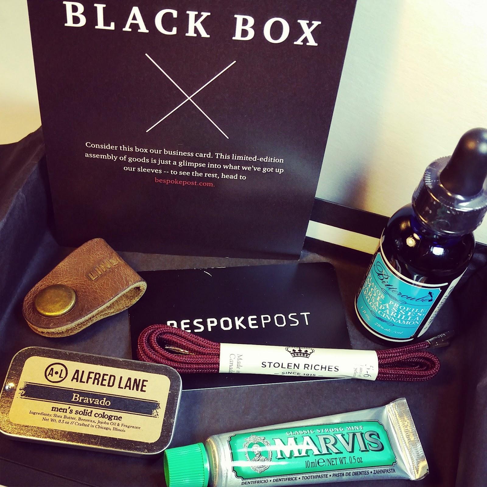 Bespoke Post Black Box Free Gift From Black Friday 2014