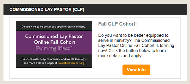 https://www.flourishmovement.org/leadership-training-series/commissioned-lay-pastor-training-clp1-clp2/