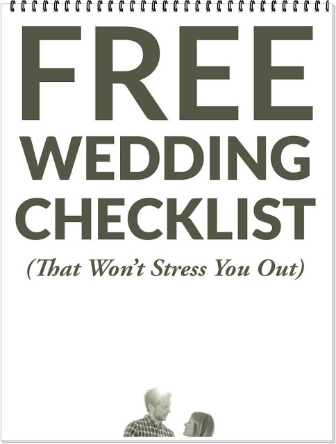 RULES to keep in mind when making a WEDDING list