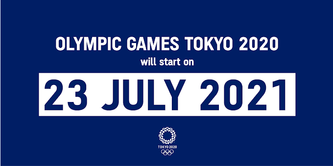 New Olympic Dates Announced!