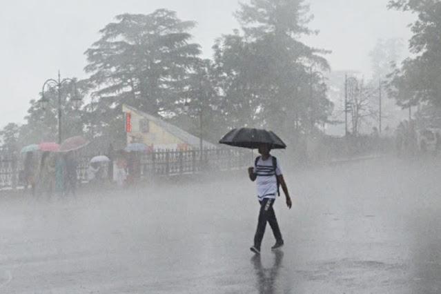 हिमाचल में भारी बारिश से जन जीवन अस्त-व्यस्त, जानिए कब तक ख़राब रहेगा मौसम