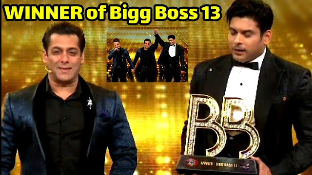 Finally Bigg Boss 13 winner Siddarth Shukla grabs trophy defeating Sehnaz Gill and Asim