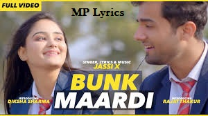 Bunk Maardi Jassi X Mp3 Song download | Bunk Maardi Jassi X  Lyrics