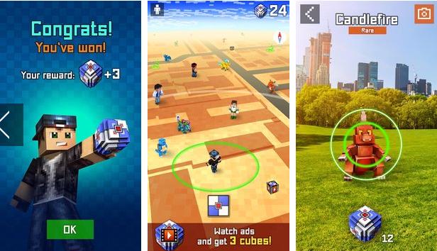 Pixelmon GO – catch them all! v1.7.13 Apk Mod [Dinero]