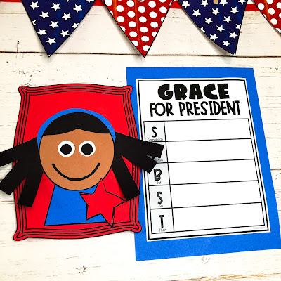 grace for president read aloud grace for president activities