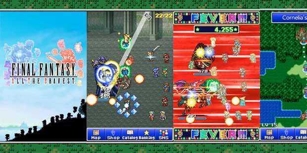 quare Enix meluncurkan game Final Fantasy All The Bravest (FF ATB), sebuah spinoff yang mengumpulkan pemain, monster, hingga musik dari berbagai seri Final Fantasy