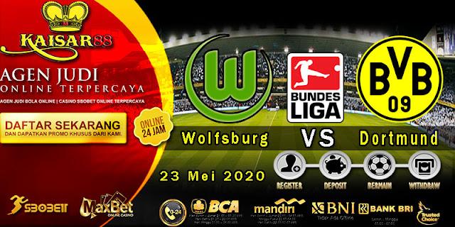 Prediksi Bola Terpercaya LIga German Wolfsburg vs Borussia Dortmund 23 Mei 2020