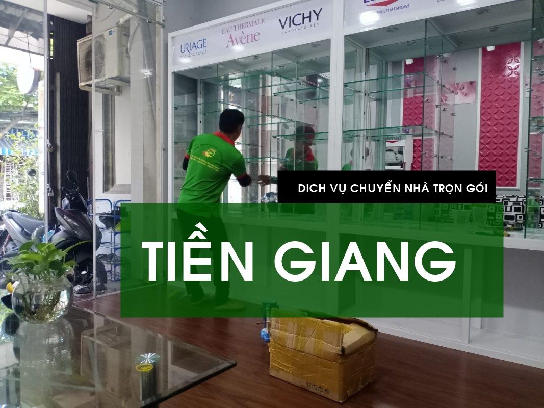 Dịch vụ chuyển nhà trọn gói ở Tiền Giang   Uy tín - Chất lượng - Giá rẻ