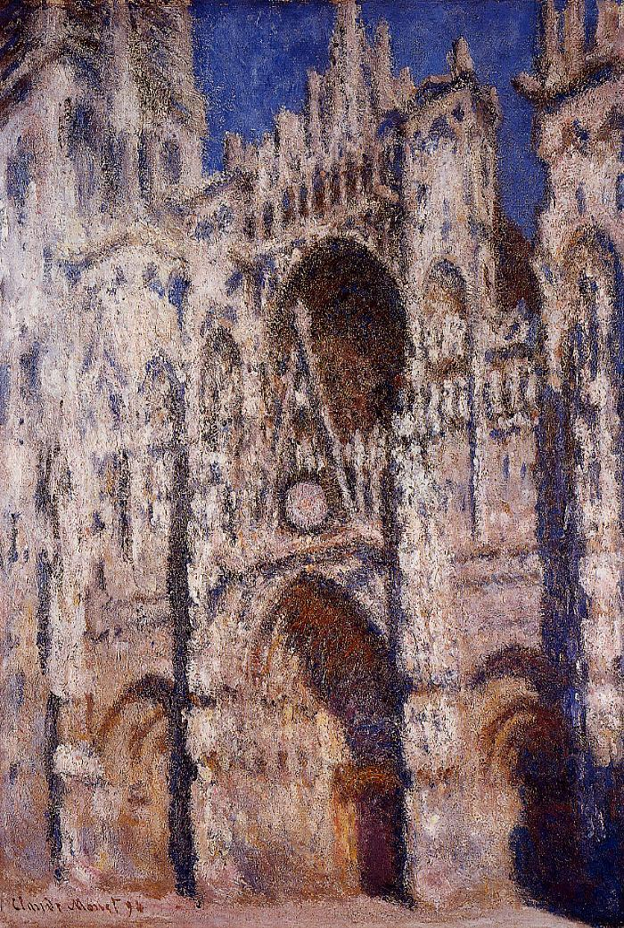 Claude Monet | The Rouen Cathedral - 325.8KB