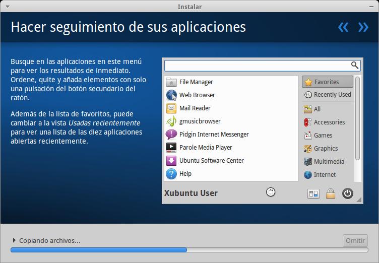 captura 2 Xubuntu