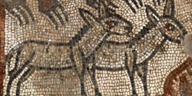 Ternyata Di Tempat Inilah Mozaik Tertua Yang Menggambarkan Bahtera Nabi Nuh Ditemukan
