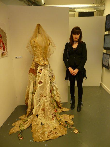 Njoywantsmore-A work of Art: Miss Havisham's Wedding dress