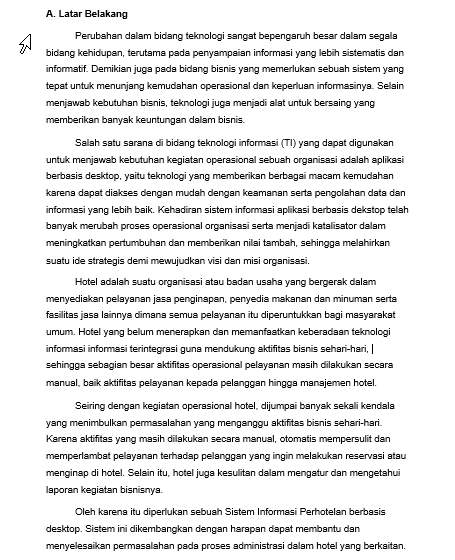 Contoh Latar Belakang Proposal Projek : contoh, latar, belakang, proposal, projek, Blogger, Cirebon:, Contoh, Latar, Belakang, Proposal, Proyek, Sistem, Informasi, Perhotelan