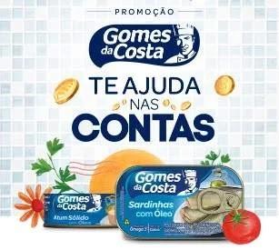 Cadastrar Promoção Gomes da Costa 2020 Ganhe 10 Reais Pagamento Contas ou Crédito Celular