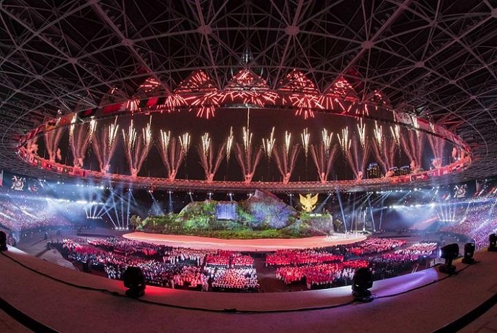 Wow, Pembukaan Asian Games 2018 Habiskan Dana 685 Miliar